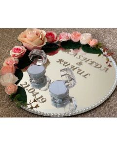 Engagement Plate with Ring holders