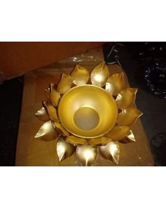 Indian Urli Hand Crafted  Decorative Water Bowl  for Home Decor