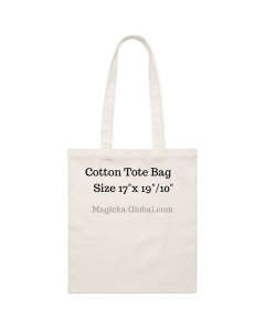 """100 Blank 180 GSM  Cotton Tote Bags 17""""×19""""/10"""""""