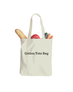"""100 Blank 80 GSM  Cotton Tote Bags 10""""X12"""""""