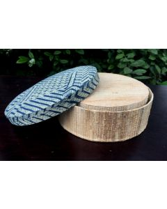20 Eco Friendly Round Banana Fiber and Kalamkari Gift Box