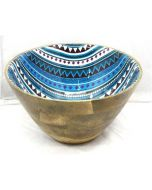 Wooden Bowl for patio parties